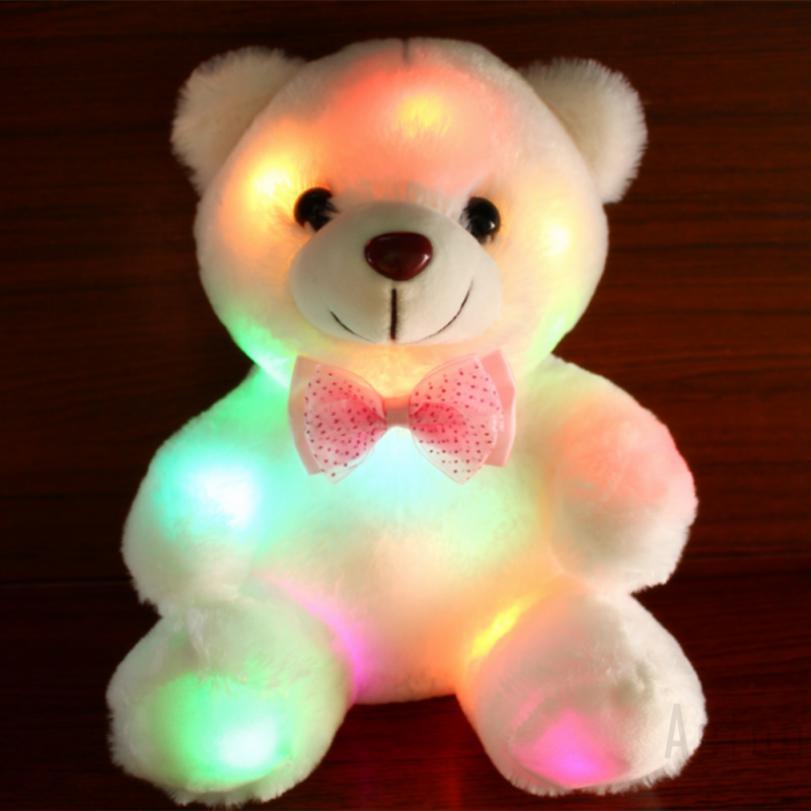 acton Nightlights for Children Nursery Night Lamp Light for KidsGirlsBoys Luminous Bear