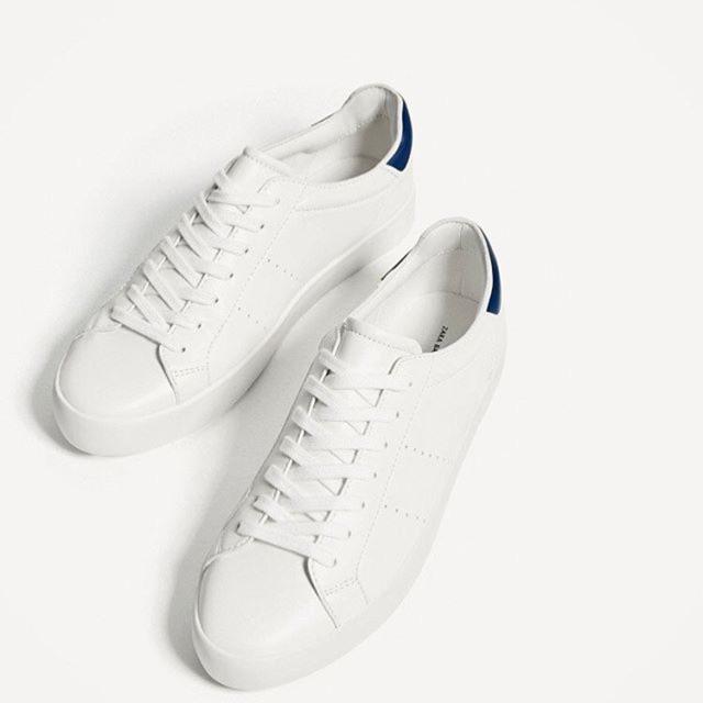 Sneaker ZARA all white gót xanh - 2494855 , 757066346 , 322_757066346 , 700000 , Sneaker-ZARA-all-white-got-xanh-322_757066346 , shopee.vn , Sneaker ZARA all white gót xanh