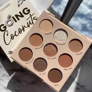 (Có sẵn) bảng mắt colourpop going coconuts