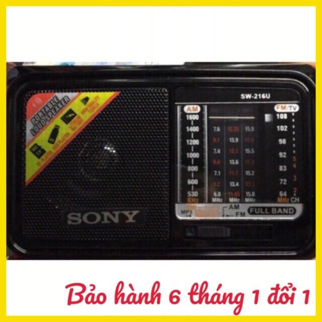 đài FM radio USB SW-216 hoặc 215 BH 6 tháng đổi mới