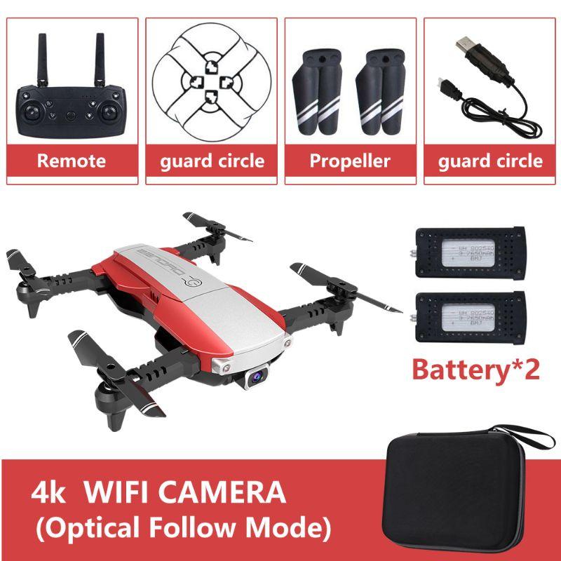 Máy bay điều khiển Flycam Drone X Pro có Camera 4K HD giữ vị trí kèm túi