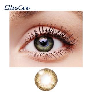 Cặp kính áp tròng màu EllieCoo tạo đôi mắt nâu dòng flower thumbnail