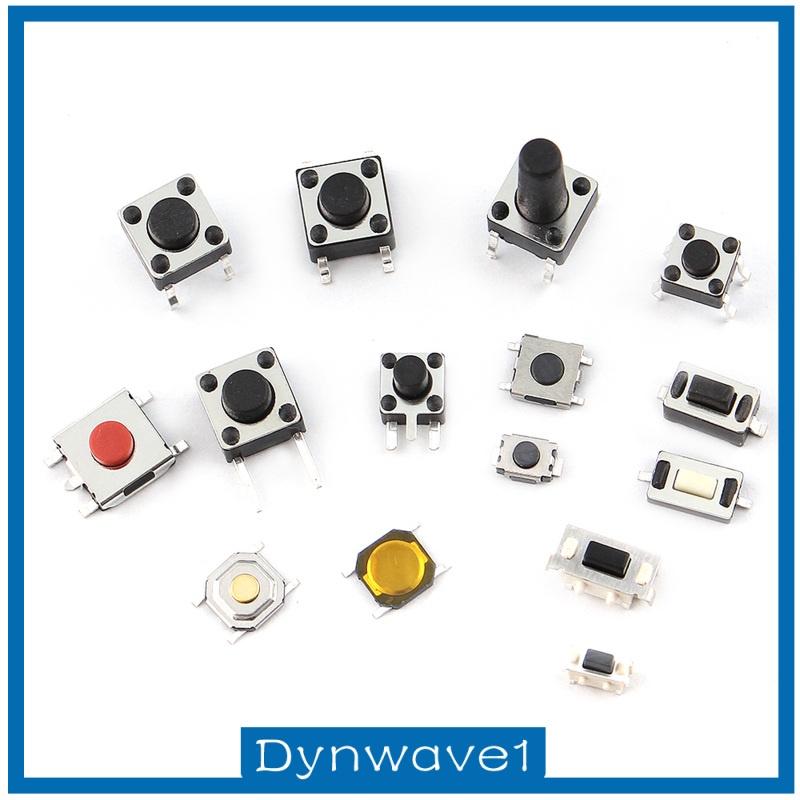Bộ Công Tắc Micro Nhấn 125pc Cho Điện Tử Dynwave1