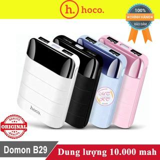 Sạc dự phòng Hoco Domon B29 10.000mah ♥️Freeship♥️ Giảm 30k khi nhập MAYT30 - Pin sạc dự phòng Hoco