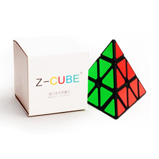 ZCUBE Magnetic Pyramid Pyraminx 3x3 Magic Cube Speed Puzzle Cube Educational