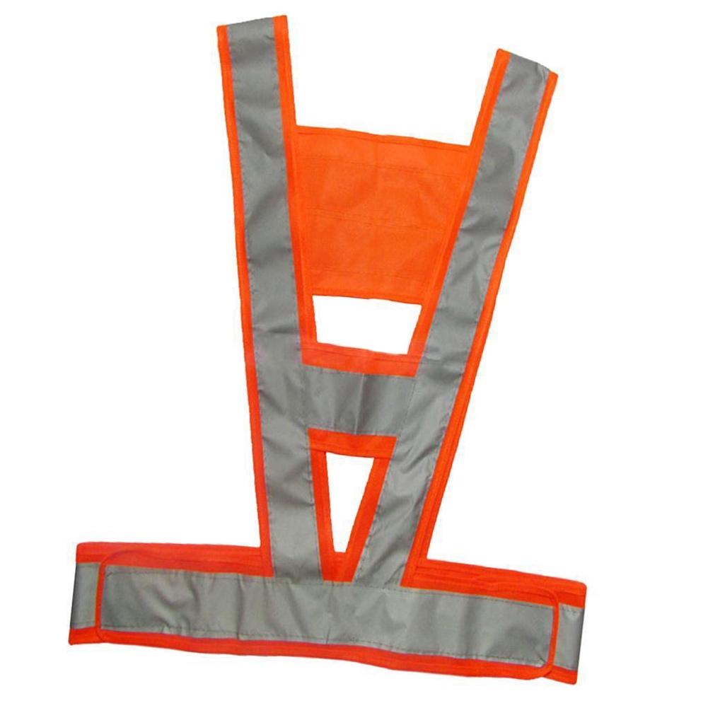 2019 NEW Reflective Traffic Light V-Shaped Safety Vest Reflecting High Visibility