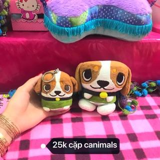Cặp cún cinimals nhồi bông 25k