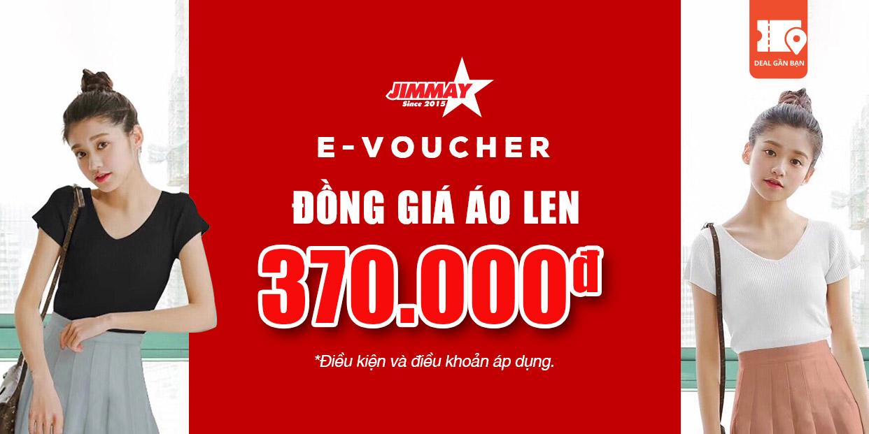 E- Voucher Jimmay đồng giá áo len trị giá 370.000