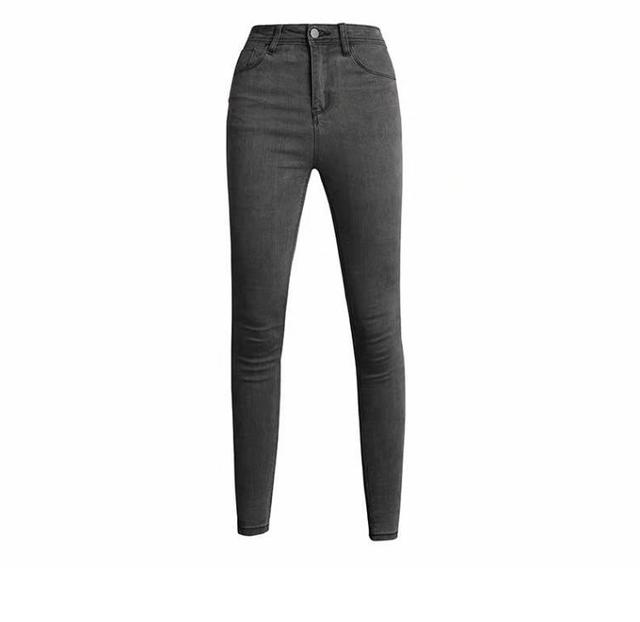 [Mã WASEPRN hoàn 20% xu đơn 99k] Quần jean nữ lưng cao co giãn cao cấp