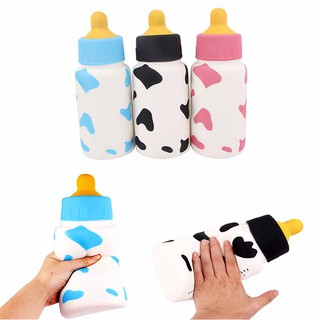 MUL❤ 1PC Super large jumbo milk bottles squeeze toy slow rising soft toy
