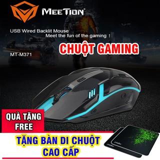 Chuột Gaming chính hãng Meetion M371 (MUA 1 TẶNG 1) [Free ship] thumbnail