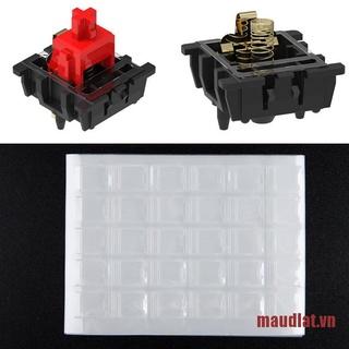 MDLAT 120Pcs/set Clear MX Switch Film For Mechanical Keyboard HTV Shaft Film Repair
