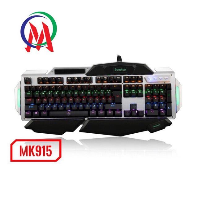 Bàn Phím Cơ Bosston Mk915 Blue Switch