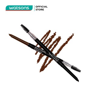 Chì Mày Silkygirl Hi-Definition Brow Liner - 02 Dark Brown 0.35g thumbnail