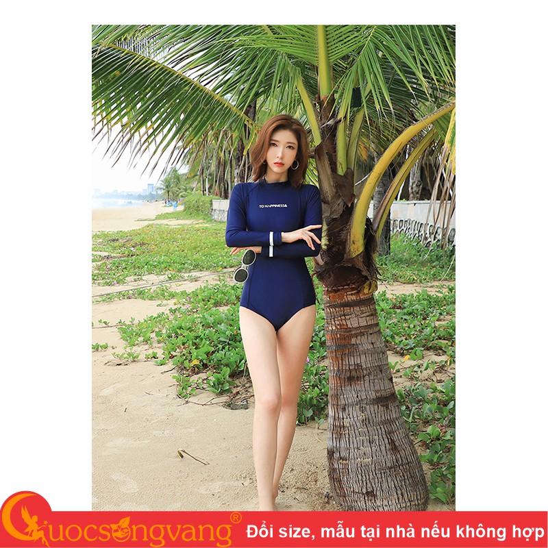 Bikini dài tay bộ đồ bơi nữ dài tay GLSWIM084
