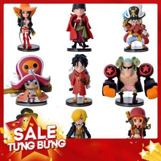 Combo Bộ 9 Mô Hình One Piece – Team Luffy – HOT
