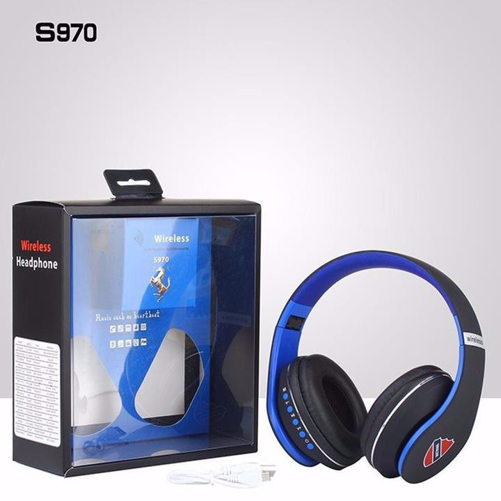 Tai Nghe Bluetooth Wireless S970 Cực Đẹp
