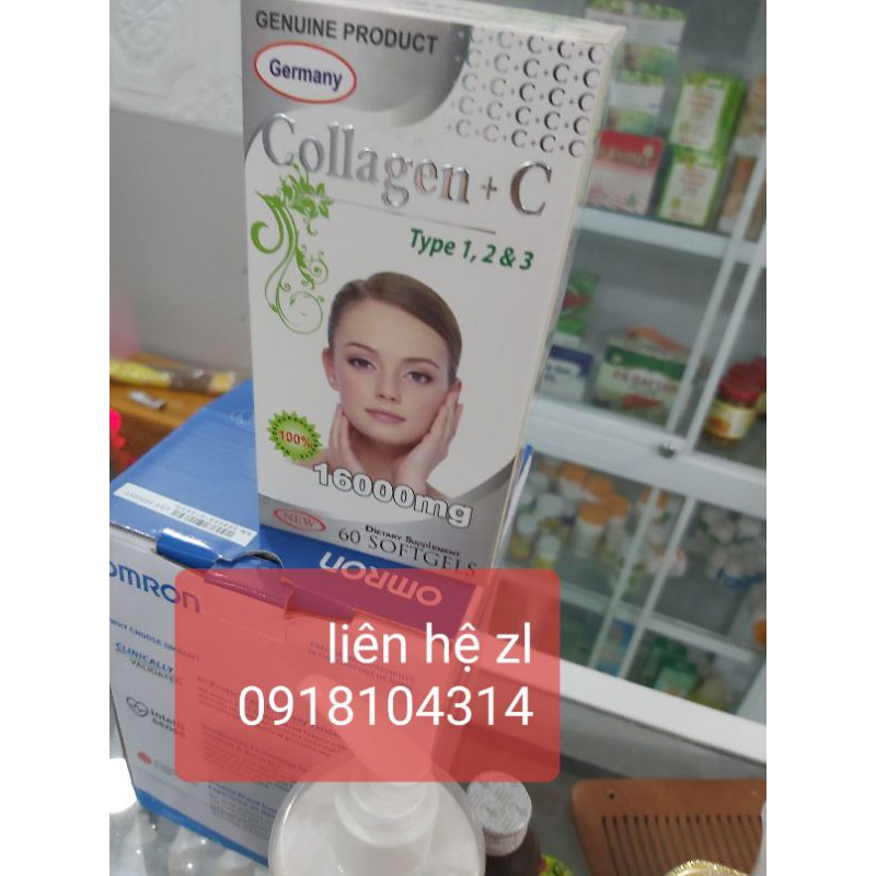 viên uống collagen+C