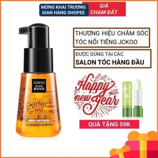 FREESHIP - Tinh dầu dưỡng tóc uốn, dưỡng tóc khô xơ, tóc nhuộm Jckoo giúp giữ nếp, tạo nếp, phục hồi hư tổn q thumbnail