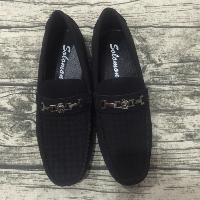 Giày lười nam khoá V