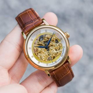 Đồng hồ Nam Ogival cơ, dây da, bảo hành 12 tháng- Đồng hồ Ogival nam MTP-STORE thumbnail