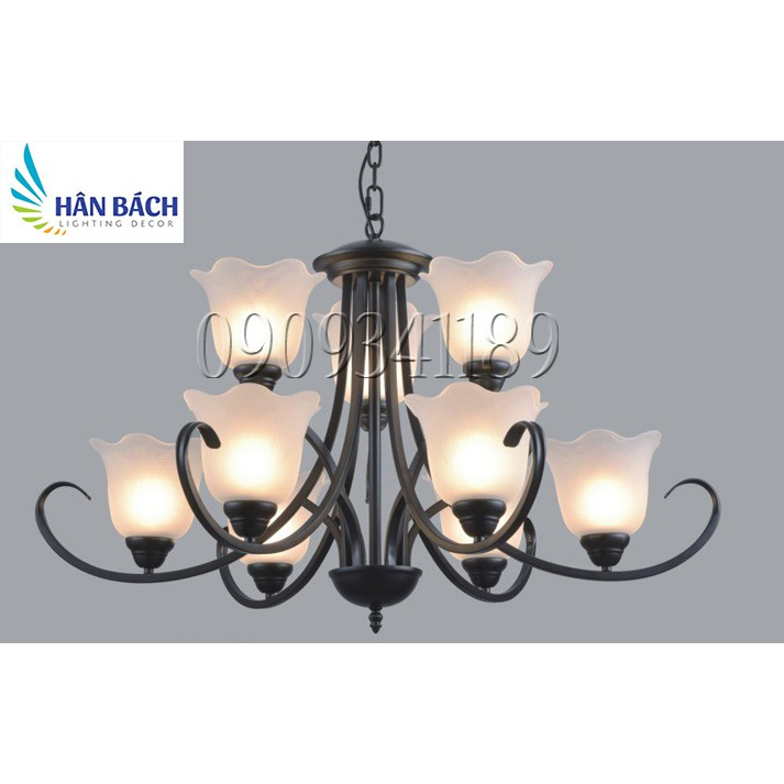 Đèn chùm, đèn trang trí nội thất - Phong cách cổ điển độc đáo