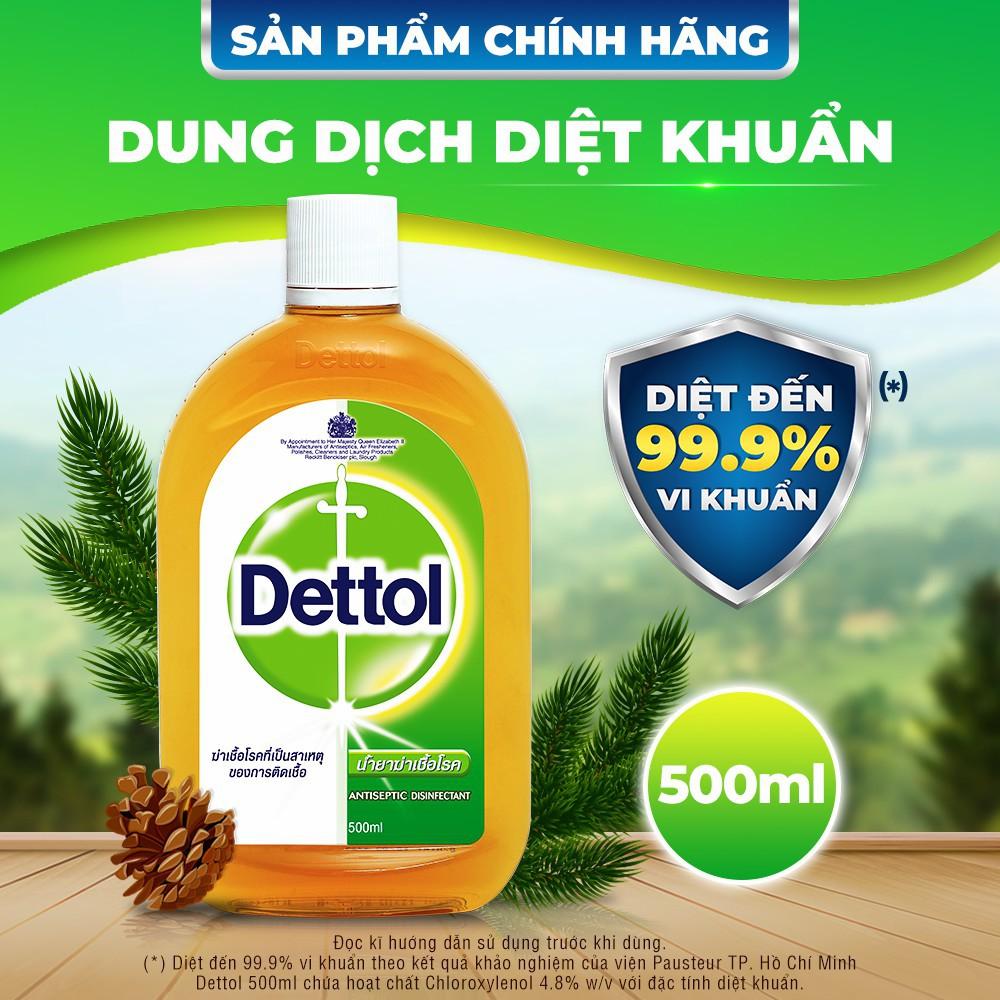 Dung dịch sát khuẩn vệ sinh nhà cửa Dettol 500ml