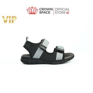 Dép Quai Hậu Bé Trai Chính Hãng Crown Space UK Sandals Trẻ em Nam Cao Cấp CRUK531