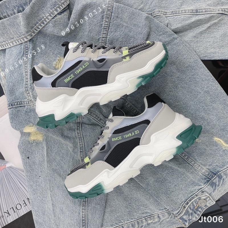 [FreeShip] [Bán chạy số 1] Giày thể thao nam, giày sneakers nam tăng chiều cao 1949 JT006