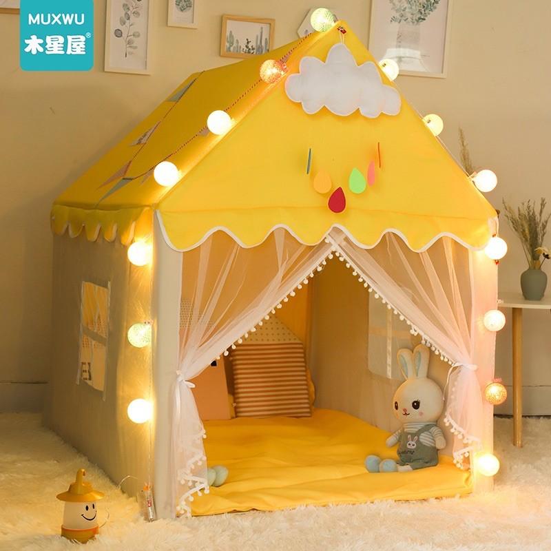 Lều công chúa lều hoàng tử cho bé loại to cao cấp full phụ kiện