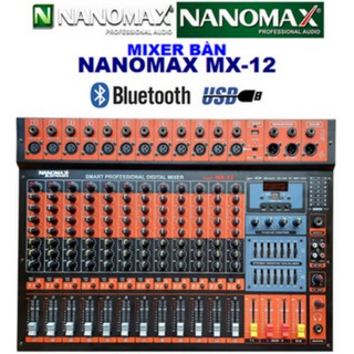 MIXER BÀN NANOMAX MX-12 thumbnail