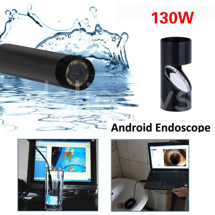 1/1.5/2/3.5/5M 6LED 5.5mm Android Endoscope 1.3MP Borescope Inspection Camera