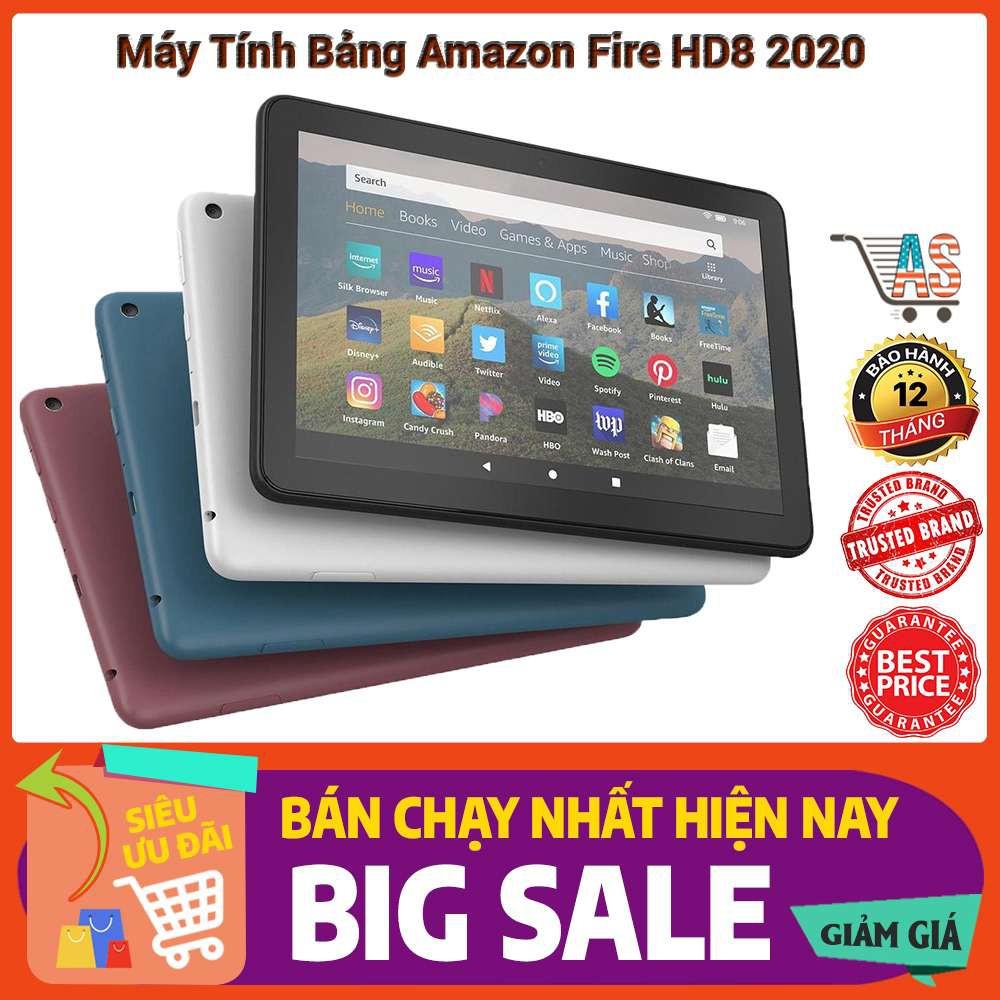 Máy tính bảng Amazon Fire HD8 32GB 2020 - Phiên bản nâng cấp mới nhất