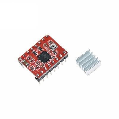 Module điều khiển động cơ A4988, DRV8825 (Kèm Tản Nhiệt)