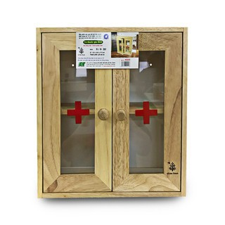 Tủ thuốc y tế Gỗ Đức Thành – 40241 chính hãng