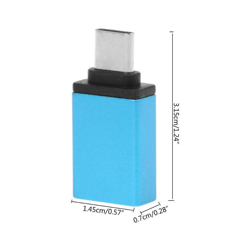Đầu chuyển đổi USB 3.1 Type C cho điện thoại Android bằng hợp kim nhôm cao cấp