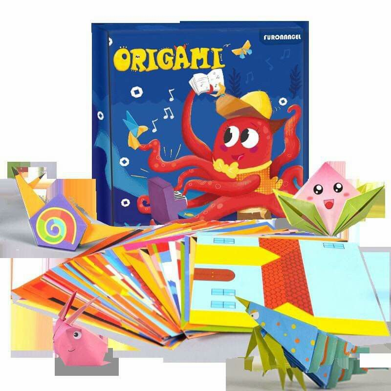 gấp giấy origami. nghệ thuật gấp giấy sáng tạo cho bé