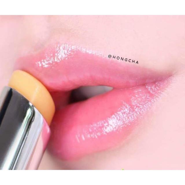 Son dưỡng môi YNM Rainbow Honey Lip Balm cầu vồng Auth Hàn Quốc
