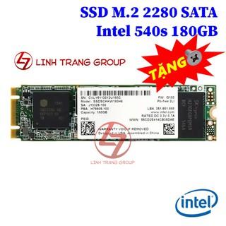 Ổ cứng SSD M.2 SATA Intel 540s 180GB, 545s 256GB - bảo hành 3 năm SD16 SD17