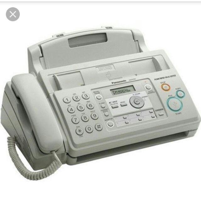Máy Fax Panasonic KX FT701 CX Giá chỉ 1.300.000₫