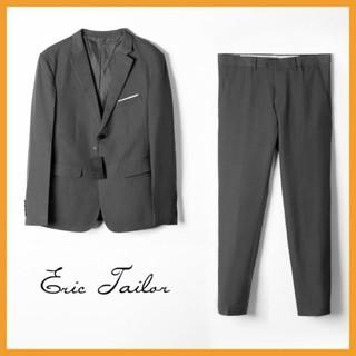 [HÀNG HOT] Bộ Vest nam chính hãng Eric Tailor form đẹp lịch lãm chất liệu xuất dư xịn BSUITET1 – Leo Vatino
