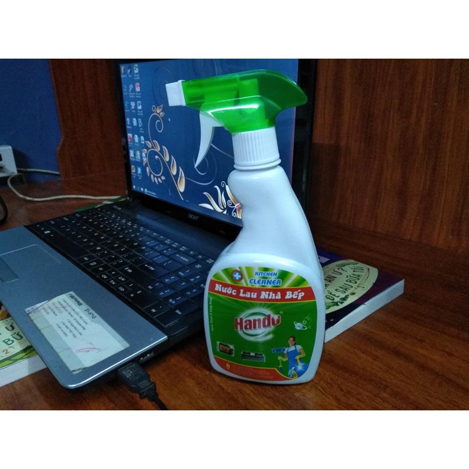 [Giá công phá] Nước lau nhà bếp, làm sạch bóng đồ trang sức Hando – sản xuất tại Việt Nam