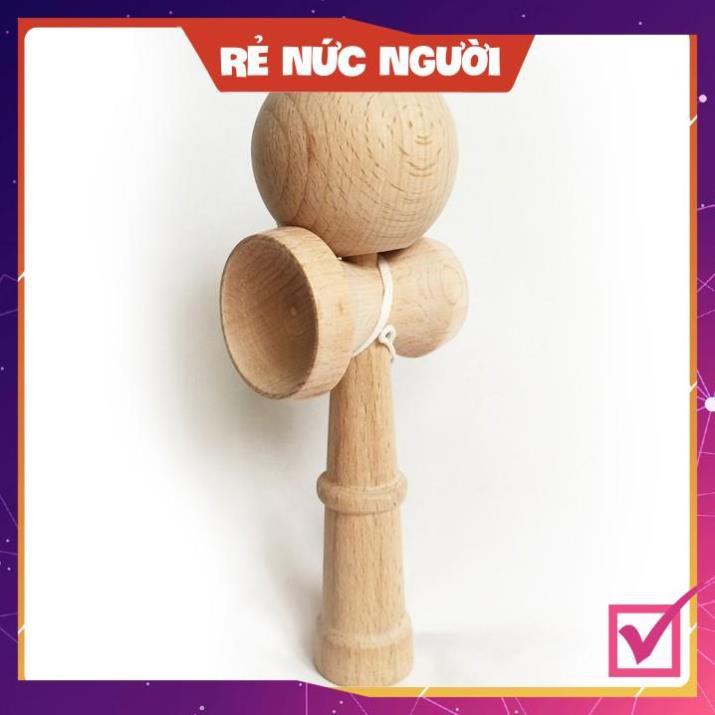 [SALE MÙA DỊCH] Đồ chơi gỗ Nhật-Kendama cao cấp-Nhựa hoặc Gỗ-Đồ chơi hoạt động thể chất-linh hoạt-tập trung
