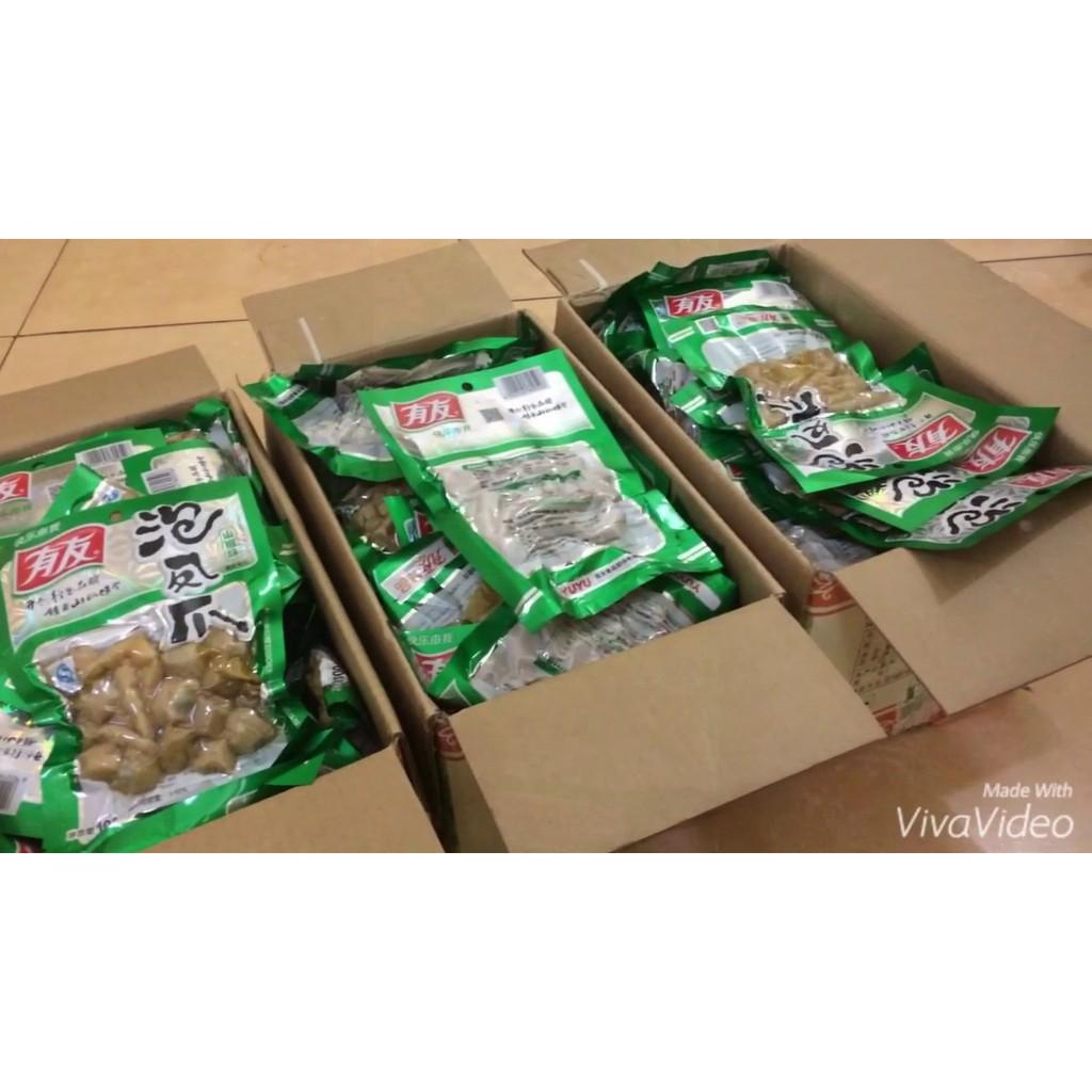 1 thùng Chân gà muối cay - YuYu loại 210gr(40 gói) bán xong