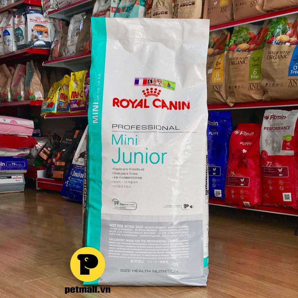 Thức ăn hạt Royal Canin MINI JUNIOR 15kg