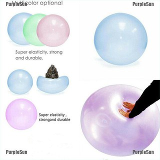 PurpleSun Outdoor Bubble Ball Inflatable Fun Ball Amazing Super Wubble Bubble Ball