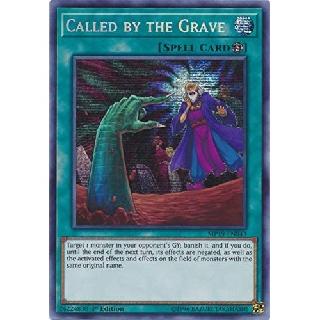 YUGIOH – Called by the Grave – MP19-EN043 – Prismatic Secret Rare