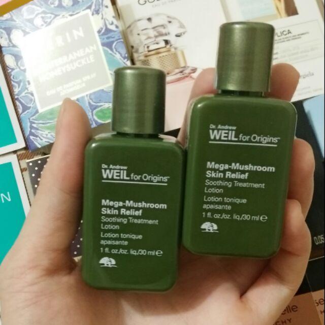 [Mini 30ml] Nước cân bằng da lotion nấm linh chi Origins Mega Mushroom Skin Relief