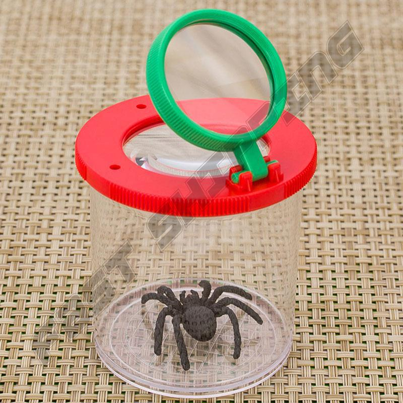 Portable Cylinder-shaped Insect Observation Magnifier Kids Outdoor Toy