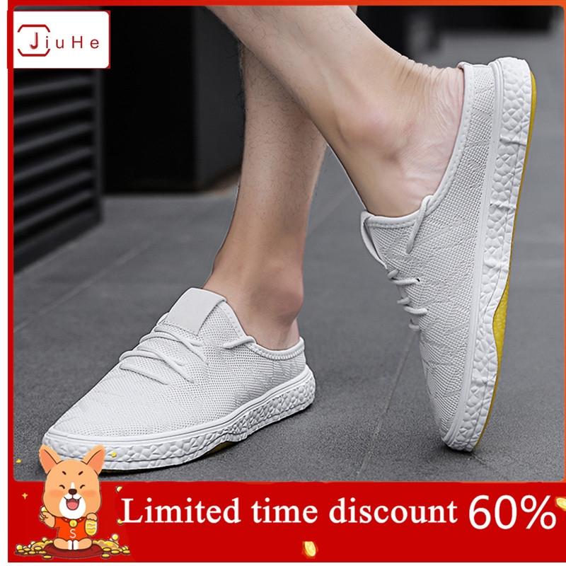 JIUHE Men's Sandals, Soft Soles, Comfortable Fashion, New